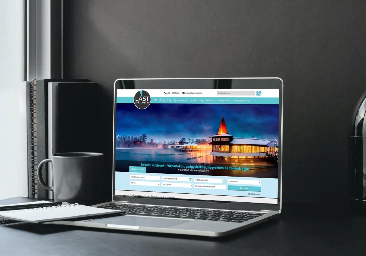 Weboldal készítés referencia - lastminute.hu