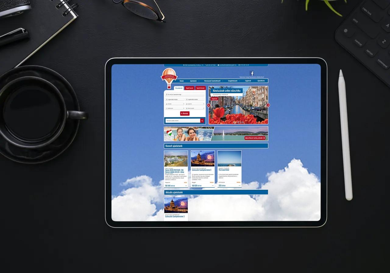 Tekergo.hu weboldal elkészítése